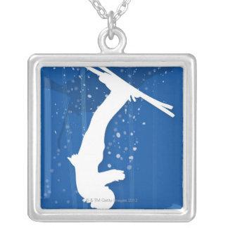 Freestyle Skier Custom Necklace