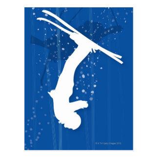 Freestyle Skier Postcard