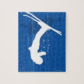 Freestyle Skier Jigsaw Puzzle