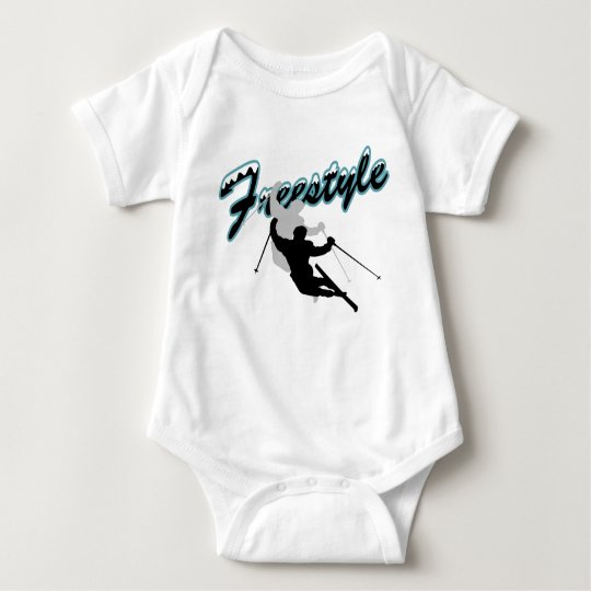 Freestyle (skiing) baby bodysuit