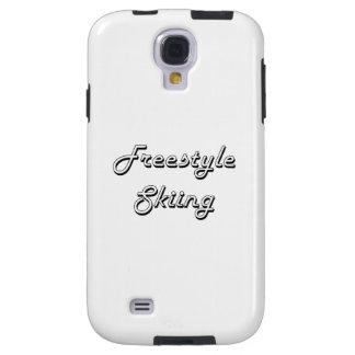 Freestyle Skiing Classic Retro Design Galaxy S4 Case