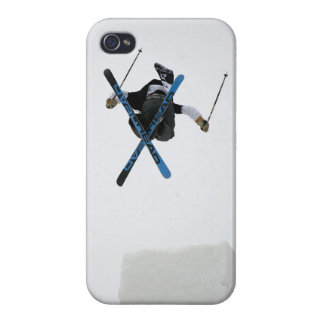 Freestyle Skiing Cover For iPhone 4