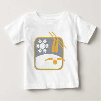 Freestyle_skiing_dd.png Baby T-Shirt