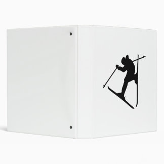 Freestyle skiing jump binders