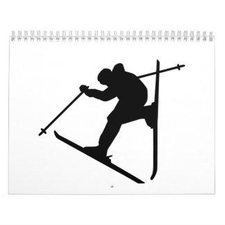 Freestyle skiing jump calendar