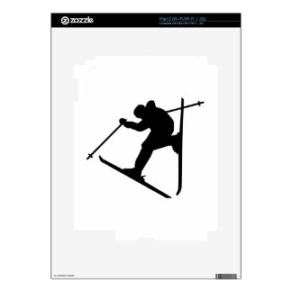 Freestyle skiing jump decals for iPad 2