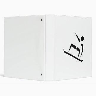 Freestyle snowboard icon binders