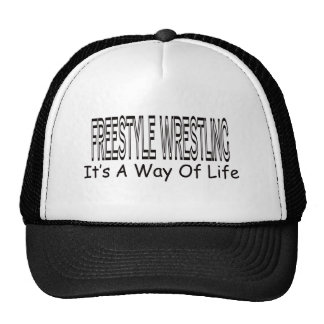 Freestyle Wrestling It's A Way Of Life Trucker Hat