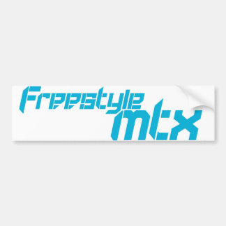 FreestyleMTX 3 Bumper Stickers