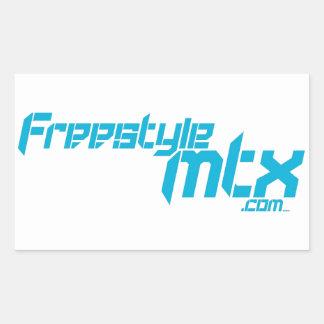FreestyleMTX 3 Rectangular Sticker