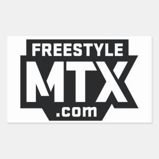 FreestyleMTX Rectangular Sticker