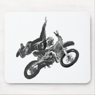 freestyling with dirt bike mouse pad