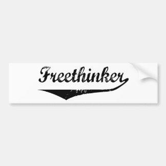 Freethinker 2 car bumper sticker