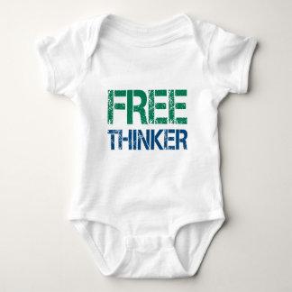freethinker baby bodysuit