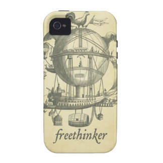 Freethinker Case-Mate Case iPhone 4 Cases