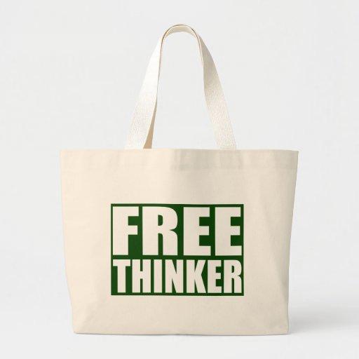 Freethinker Jumbo Tote Bag