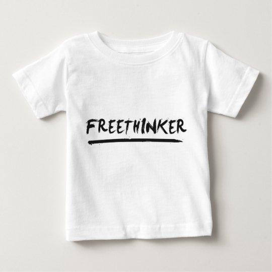 Freethinker Paintbrush Baby T-Shirt