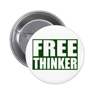 Freethinker Pinback Buttons