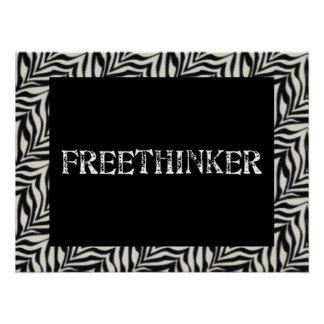 Freethinker Posters