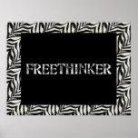 Freethinker Posters