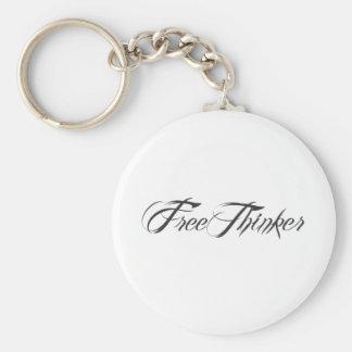 Freethinker Script Keychain