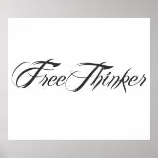 Freethinker Script Poster