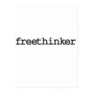 Freethinker (simple) post card