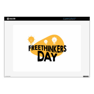 Freethinkers Day - Appreciation Day Laptop Skins