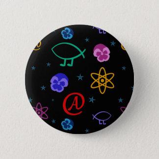 Freethought Atheist Customizable Button