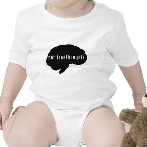 ¿Freethought conseguido? (Negro) Trajes De Bebé