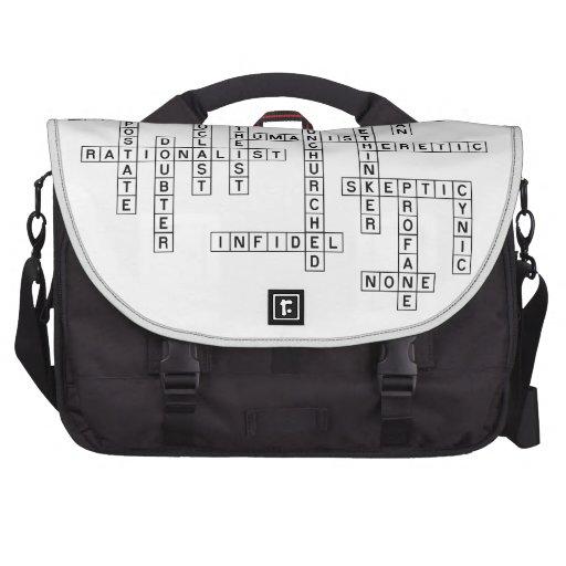 Freethought Crossword Laptop Commuter Bag