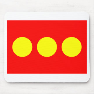 Freetown Christiania Flag Mouse Pad