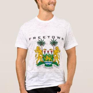 FREETOWN, MAPA (DEL SIERRA LEONE), CAMISETA Y ETC