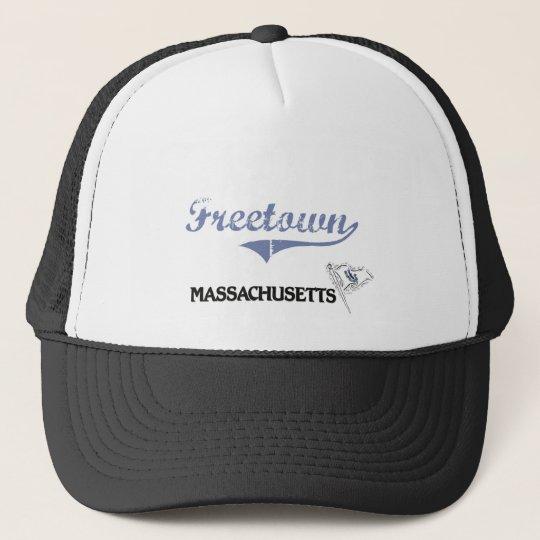 Freetown Massachusetts City Classic Trucker Hat