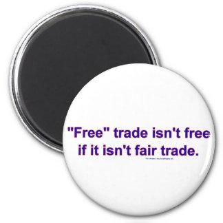 FreeTradeFairTrade Magnet