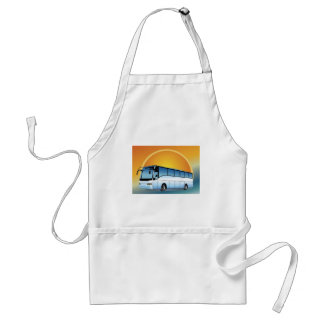 FreeVector-Bus Transportation travel touring Aprons