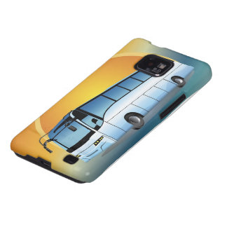 FreeVector-Bus Transportation travel touring Galaxy SII Cases