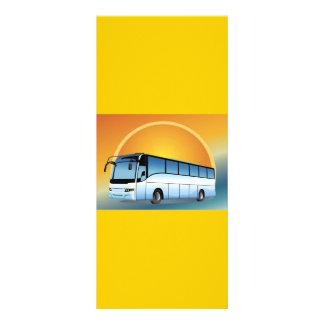 FreeVector-Bus Transportation travel touring Customized Rack Card