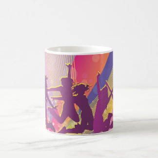 FreeVector-Club-Graphics.ai people dancing jumping Coffee Mug