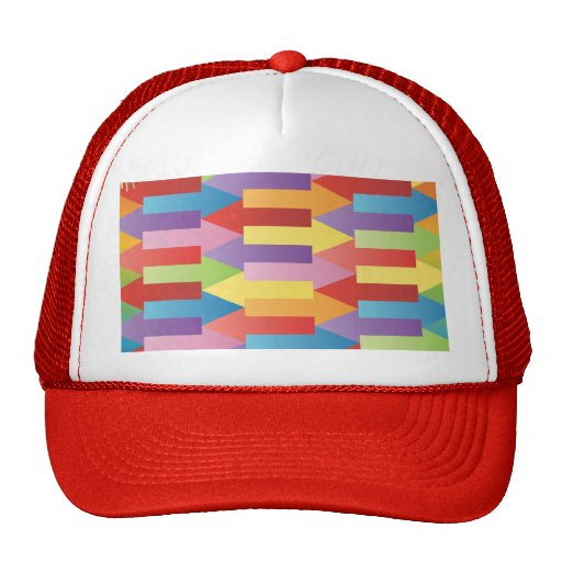 FreeVector-Colorful-Arrows-Vector.ai Hat