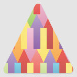 FreeVector-Colorful-Arrows-Vector.ai Triangle Sticker