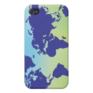 FreeVector-Earth-Vector.ai digital art maps causes iPhone 4 Cover