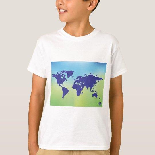 FreeVector-Earth-Vector.ai digital art maps causes T-Shirt
