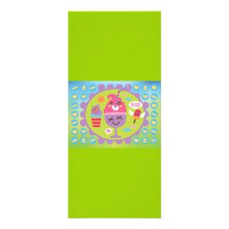 FreeVector-Ice-Cream-Cartoons cute kawaii graphics Custom Rack Cards