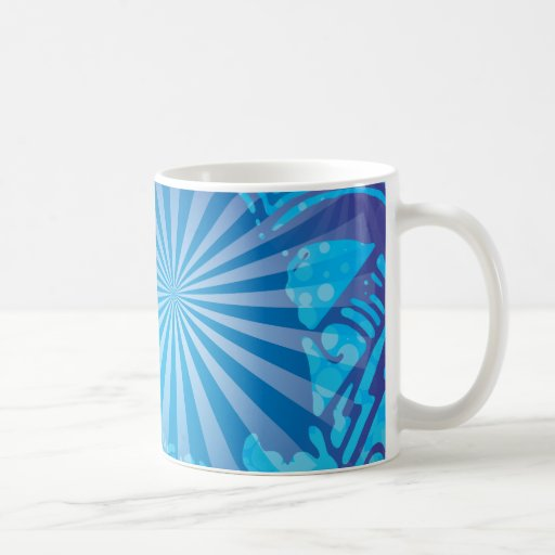 FreeVector-Starburst-Sky.ai Classic White Coffee Mug