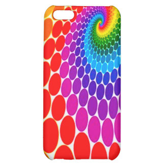 FreeVectorColorfulDotsBackground Case For iPhone 5C