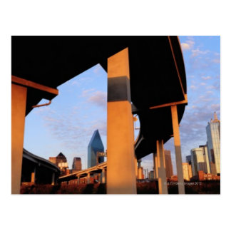 Freeway Overpass in Dallas 2 Post Card