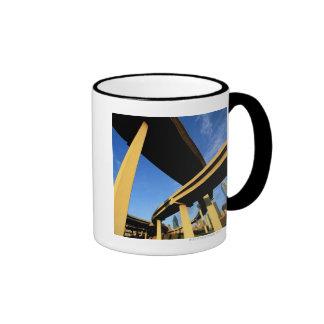 Freeway Overpass in Dallas Coffee Mugs
