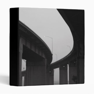 Freeway Ramps in a Fog Binder