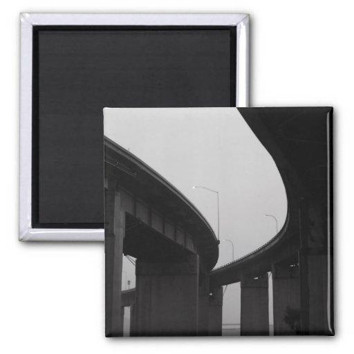 Freeway Ramps in a Fog Magnet